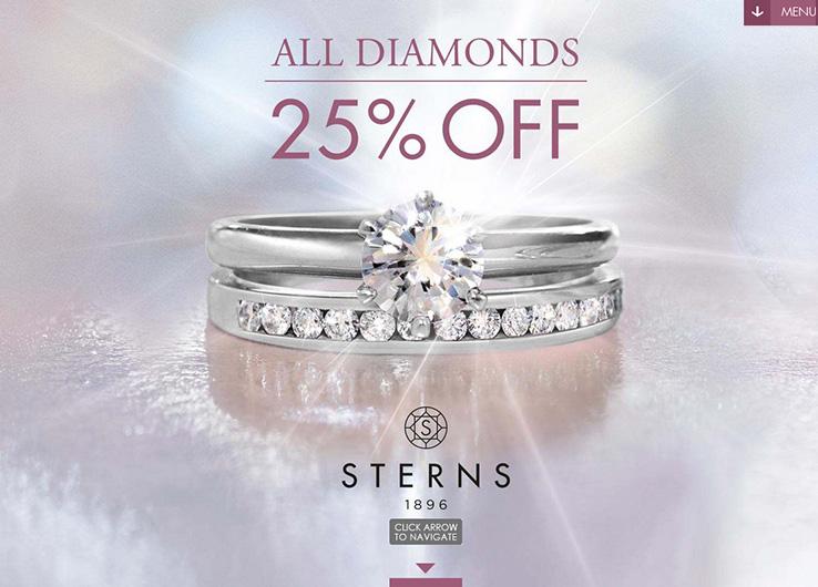 Techsys Digital Mobile Sterns 25 Percent Off Diamonds