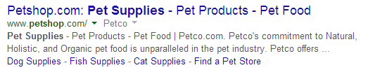 pet shop links