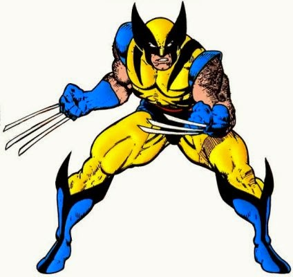 how to draw wolverine cartoon